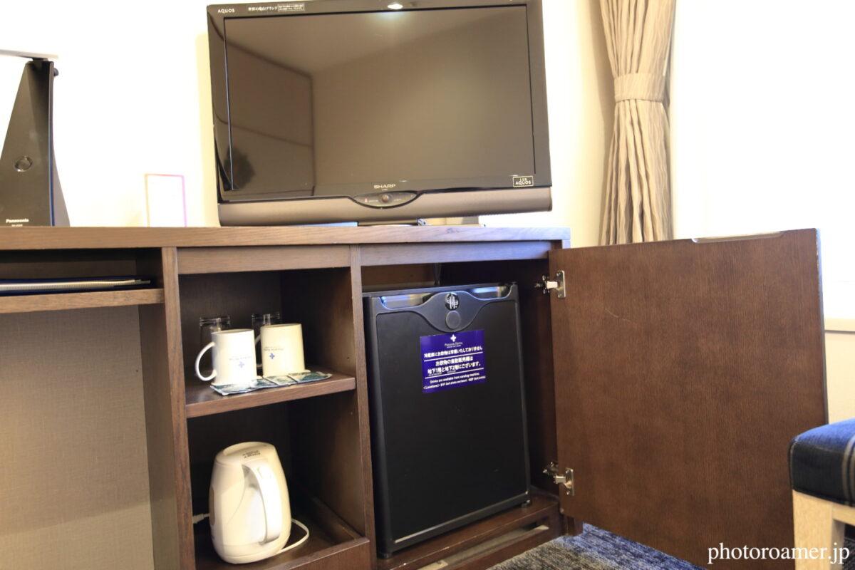 プレミアホテル中島公園札幌 部屋 テレビデスク