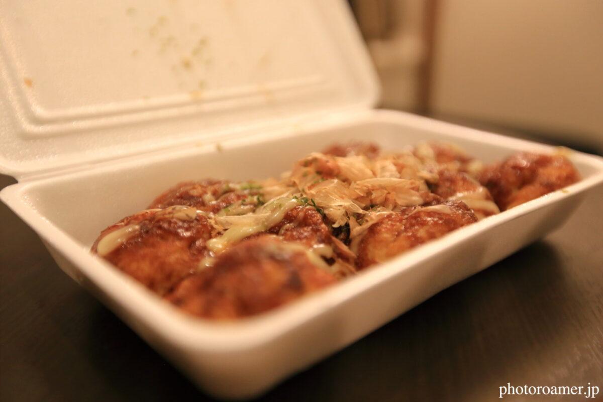 北海道旅行 夕食 凛たこ 10個