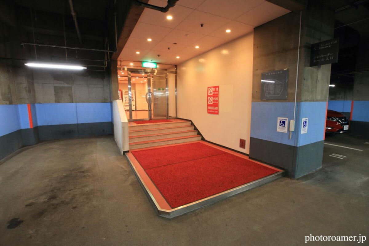 プレミアホテル中島公園札幌 地下駐車場1F