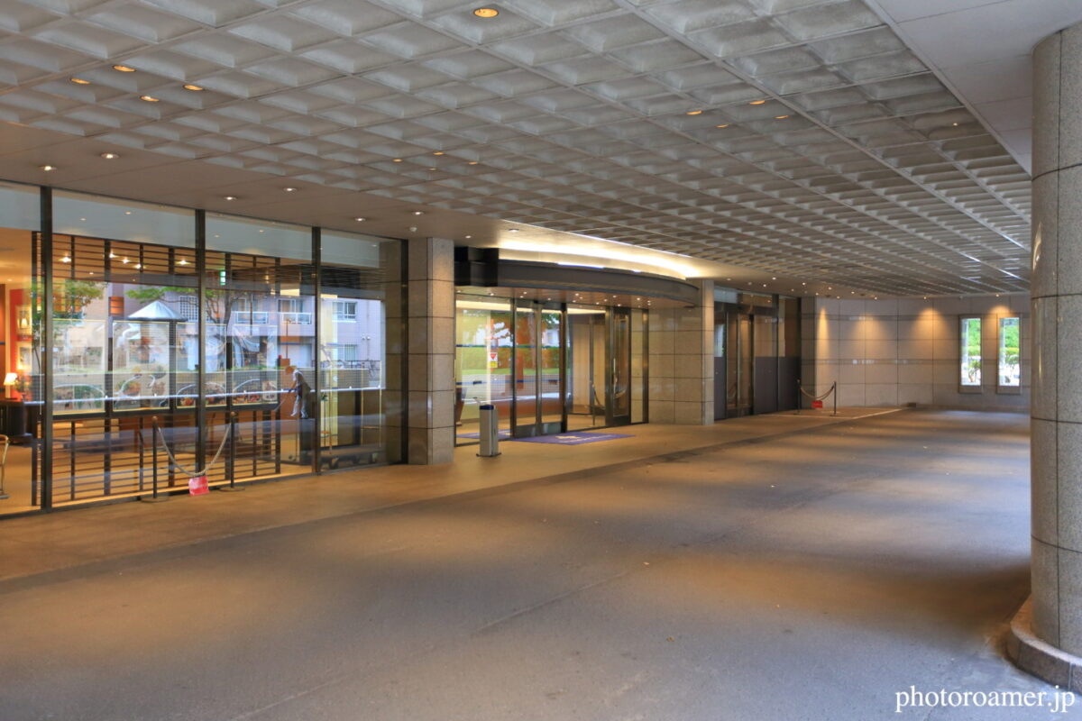 プレミアホテル中島公園札幌 エントランス ロータリー