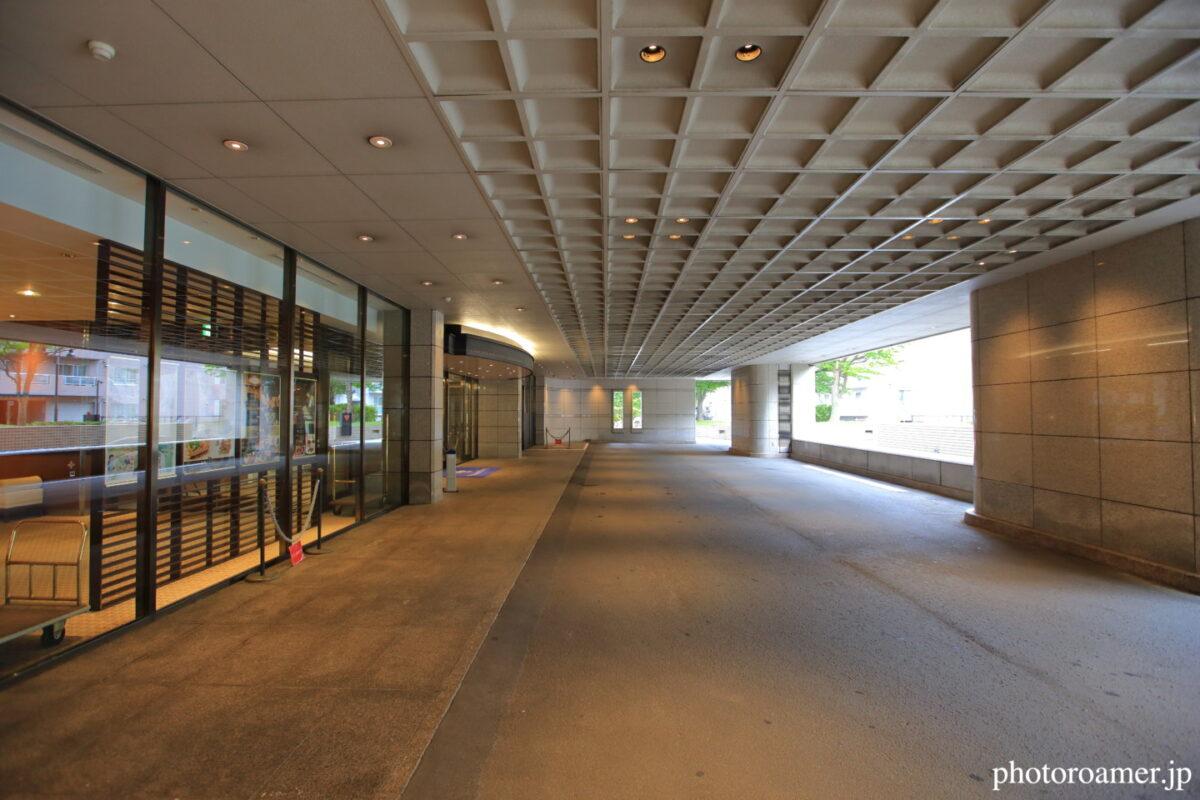 プレミアホテル中島公園札幌 エントランス ロータリー 広さ