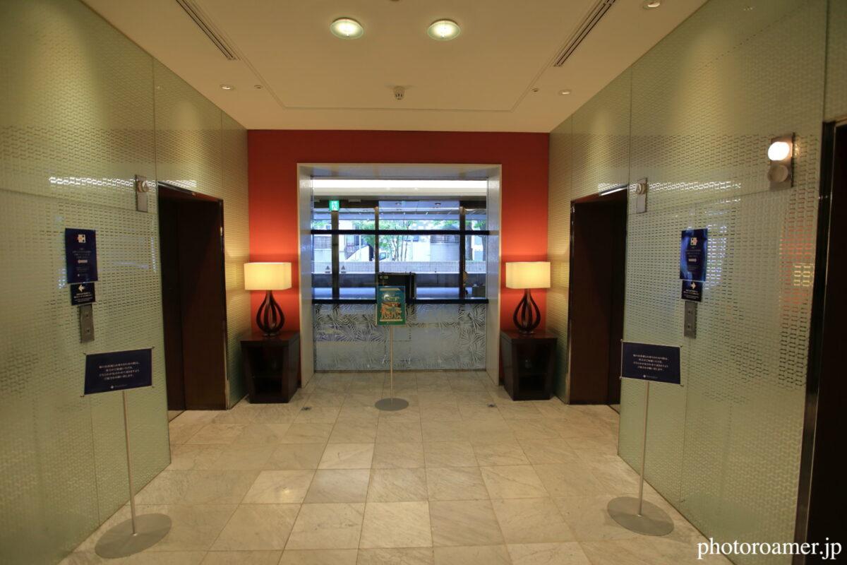 プレミアホテル中島公園札幌 エレベーター