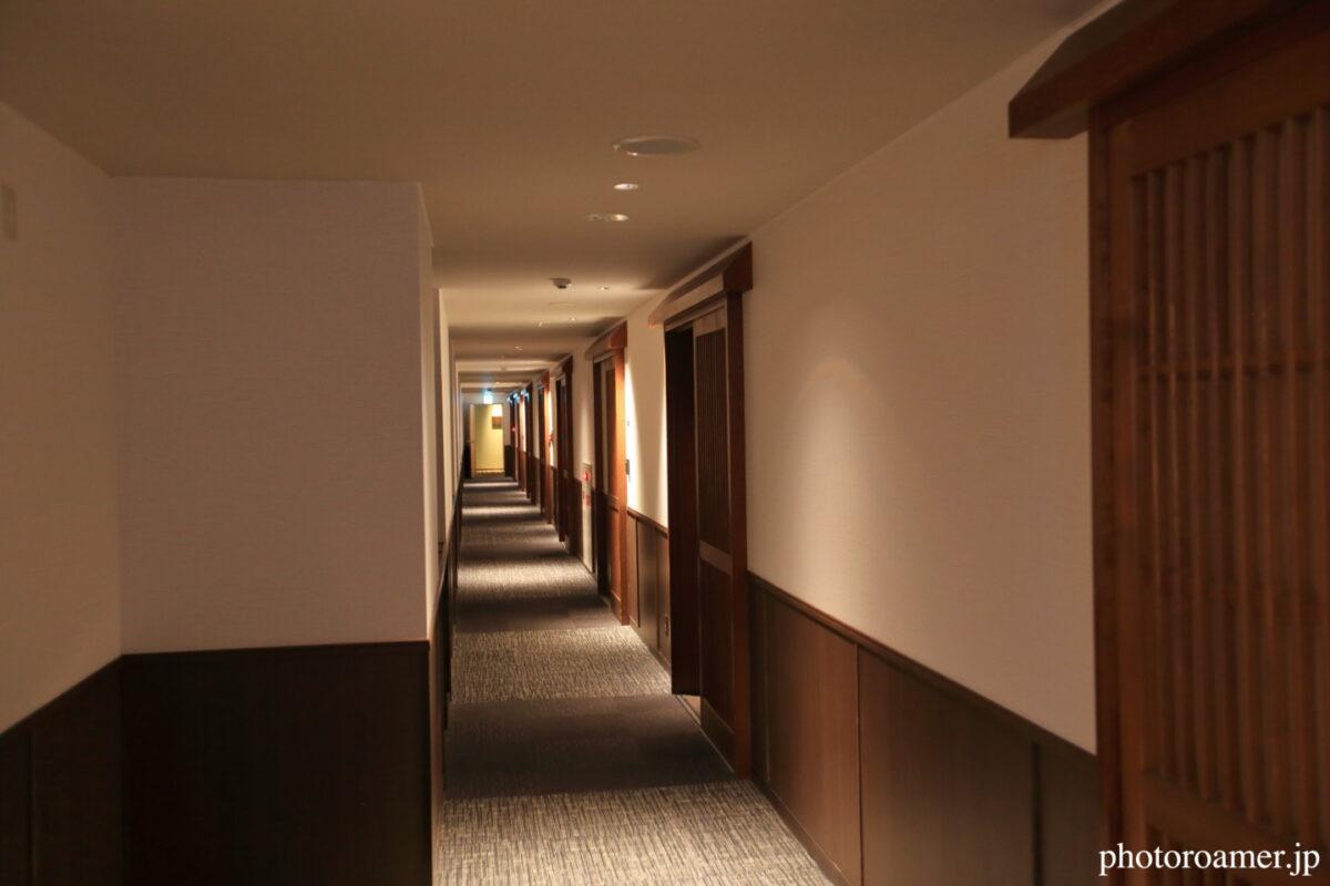 北こぶし知床 ホテル&リゾート 廊下
