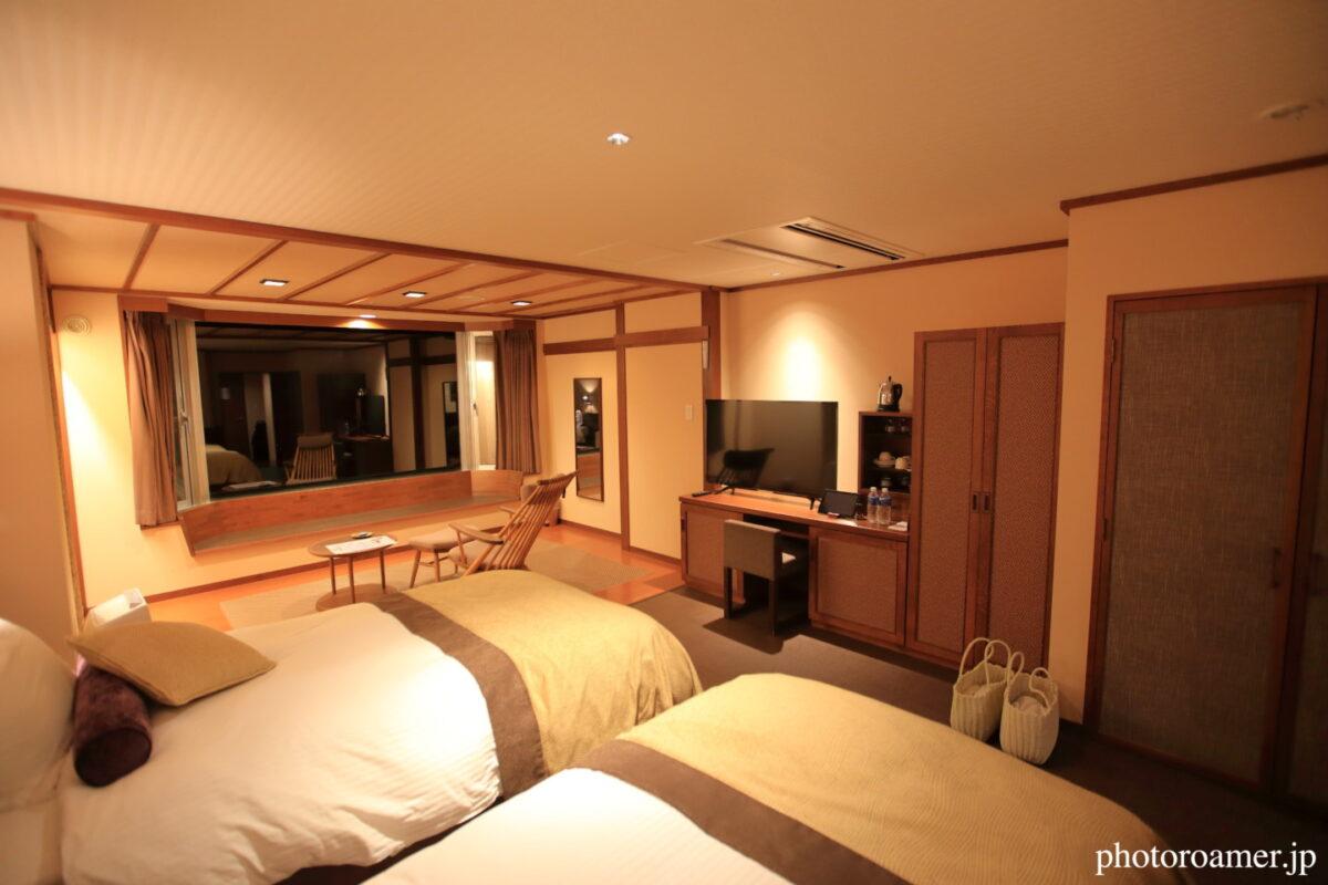 北こぶし知床 ホテル&リゾート 寝室 全景