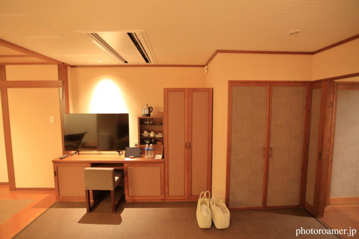 北こぶし知床 ホテル&リゾート 寝室 デスク