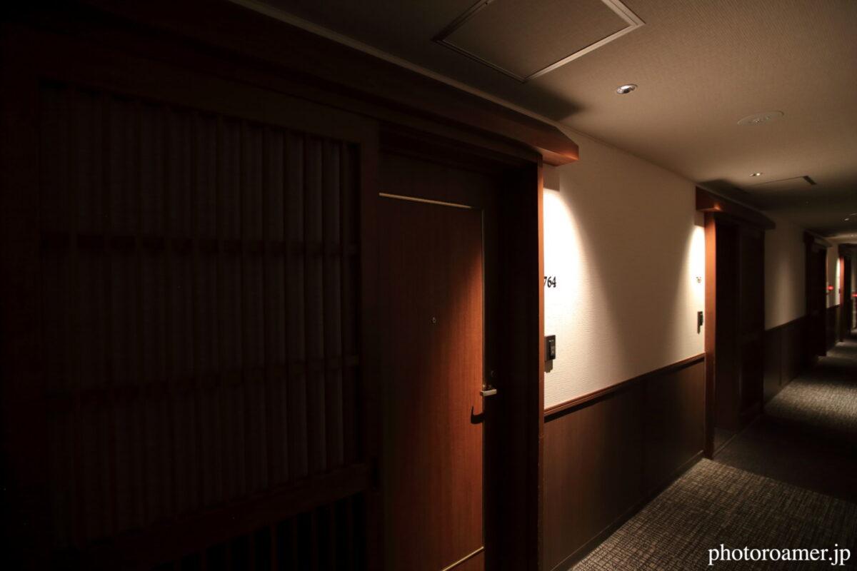 北こぶし知床 ホテル&リゾート 部屋入り口