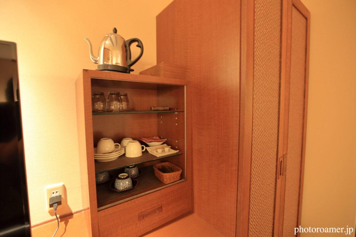 北こぶし知床 ホテル&リゾート 寝室 食器