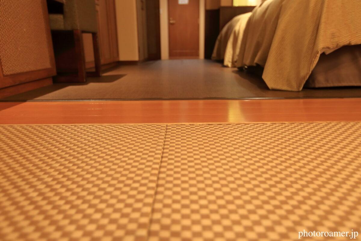北こぶし知床 ホテル&リゾート 寝室 埋め込み式畳