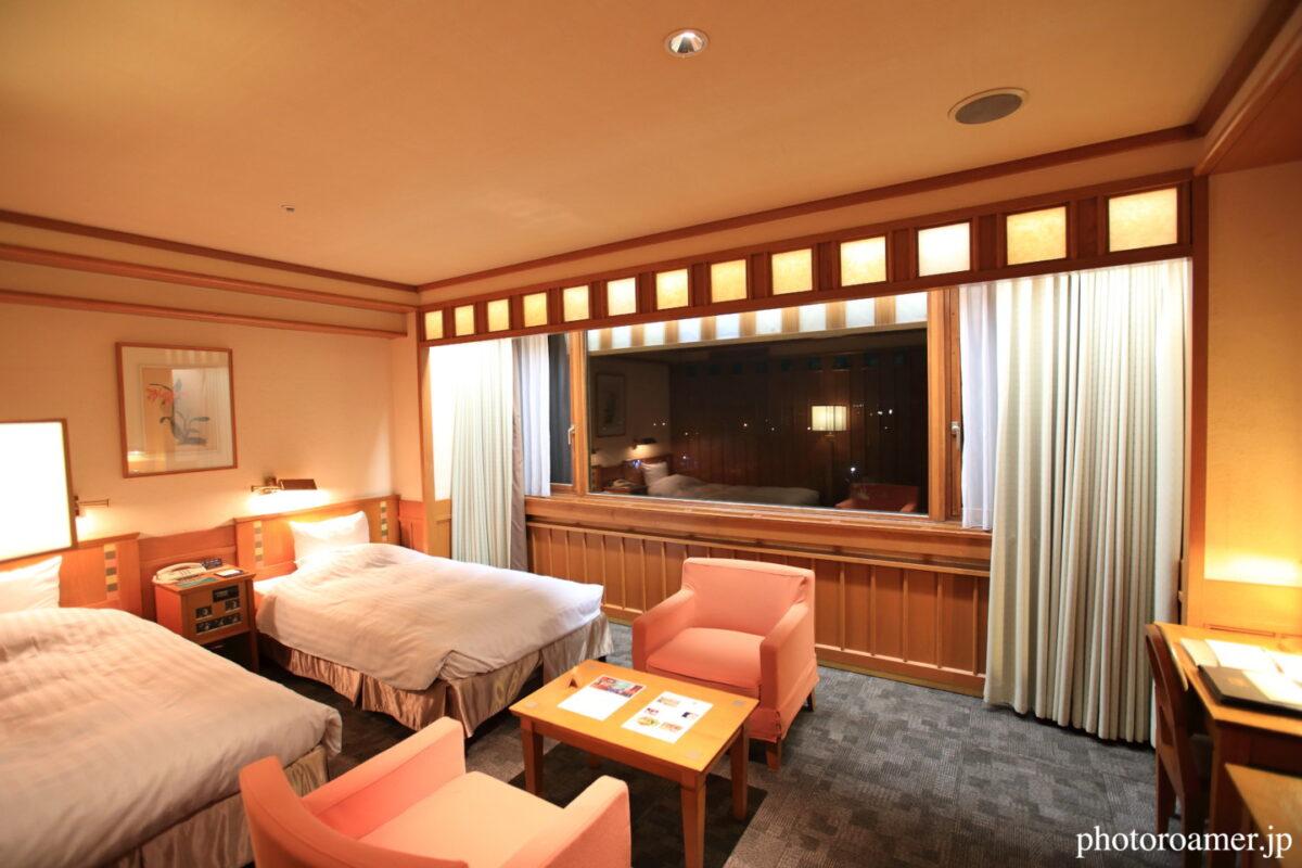 森のスパリゾート北海道ホテル 部屋全景
