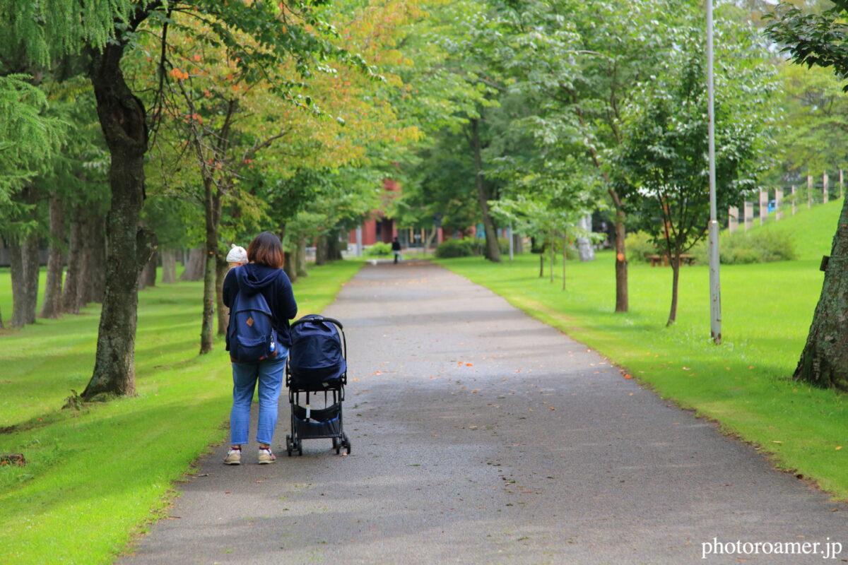 緑ヶ丘公園 ママさん