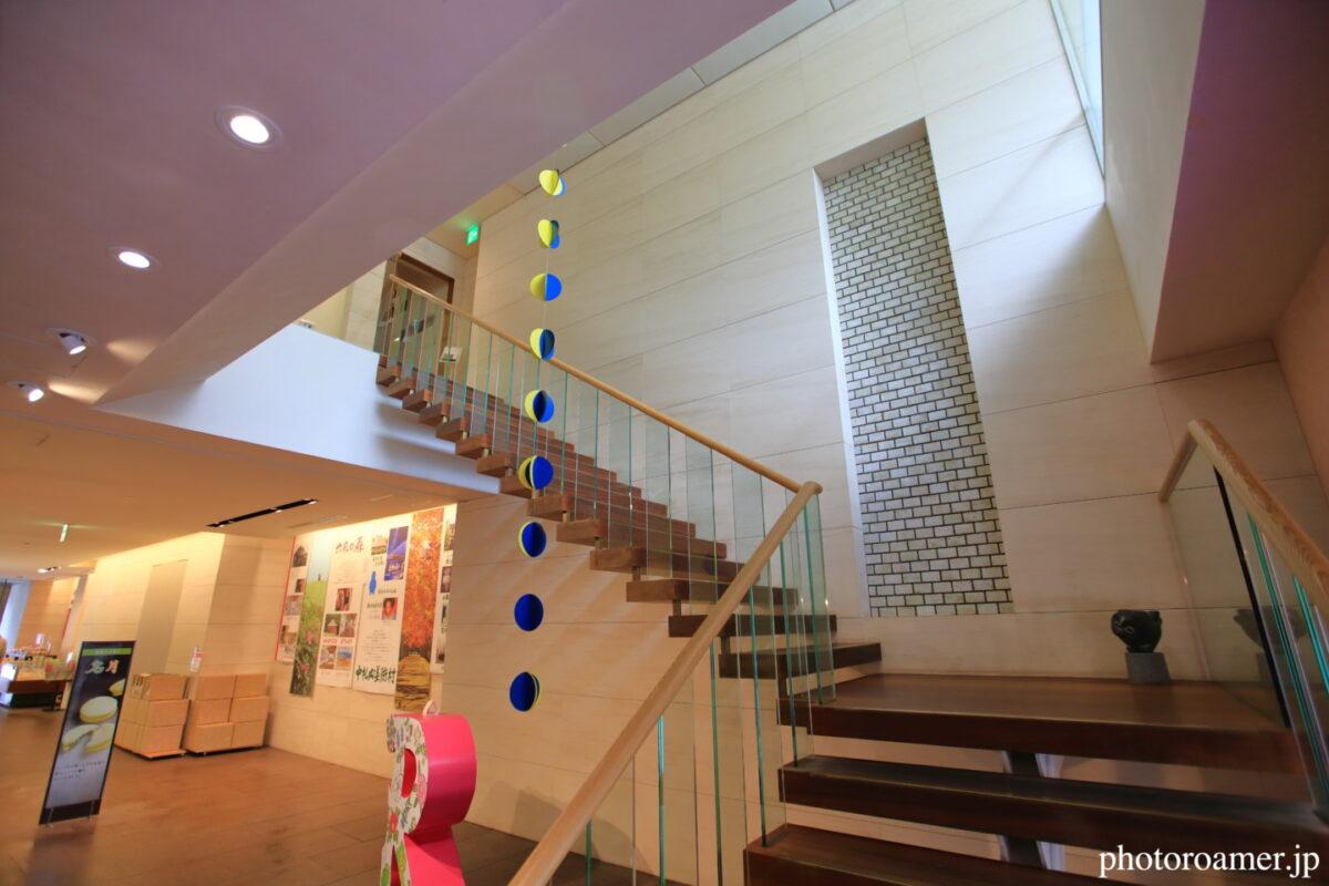 六花亭 帯広本店 喫茶室 階段