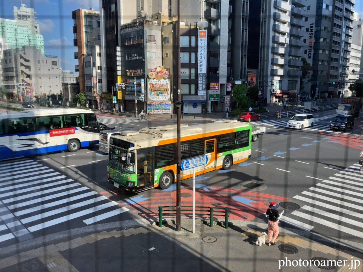 東京 マクドナルド 東新宿駅前店 2階