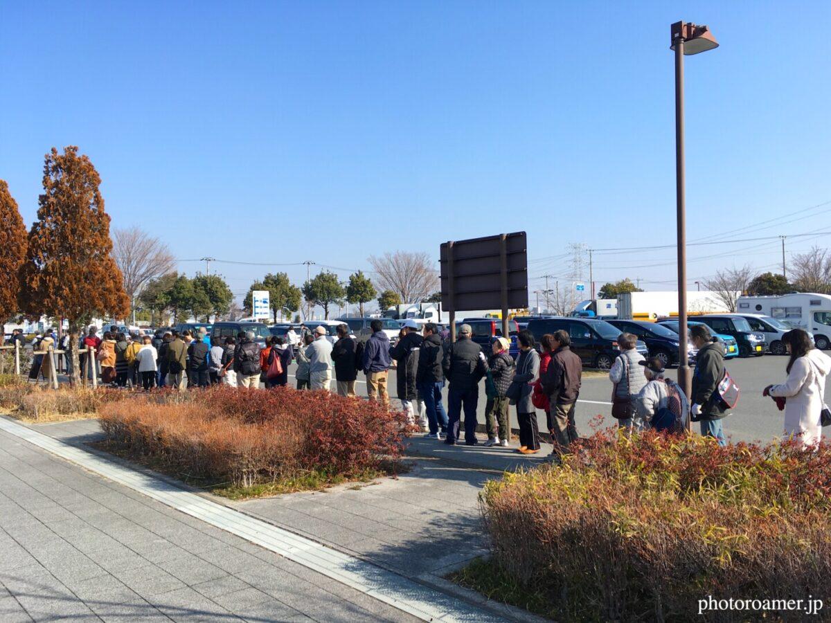 道の駅 よしみ 開店前行列 2020