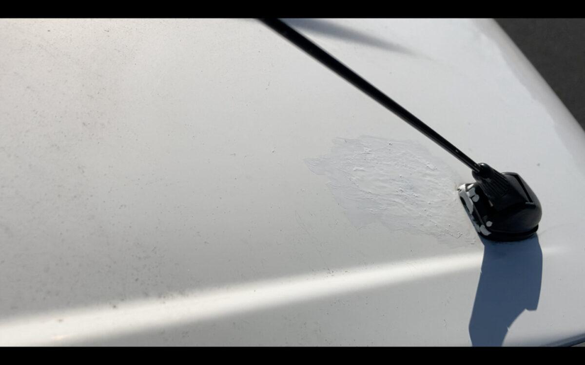 タント 錆止め 錆止めペイント 塗装後 運転席