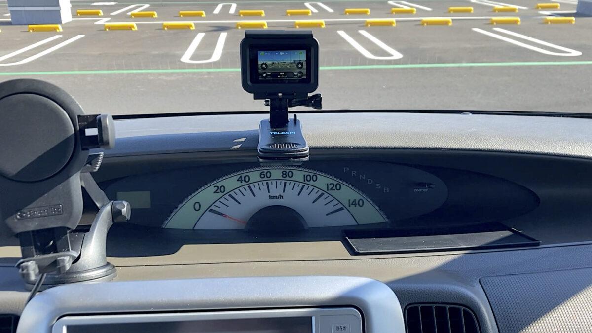 GoPro HERO9 車載カメラ