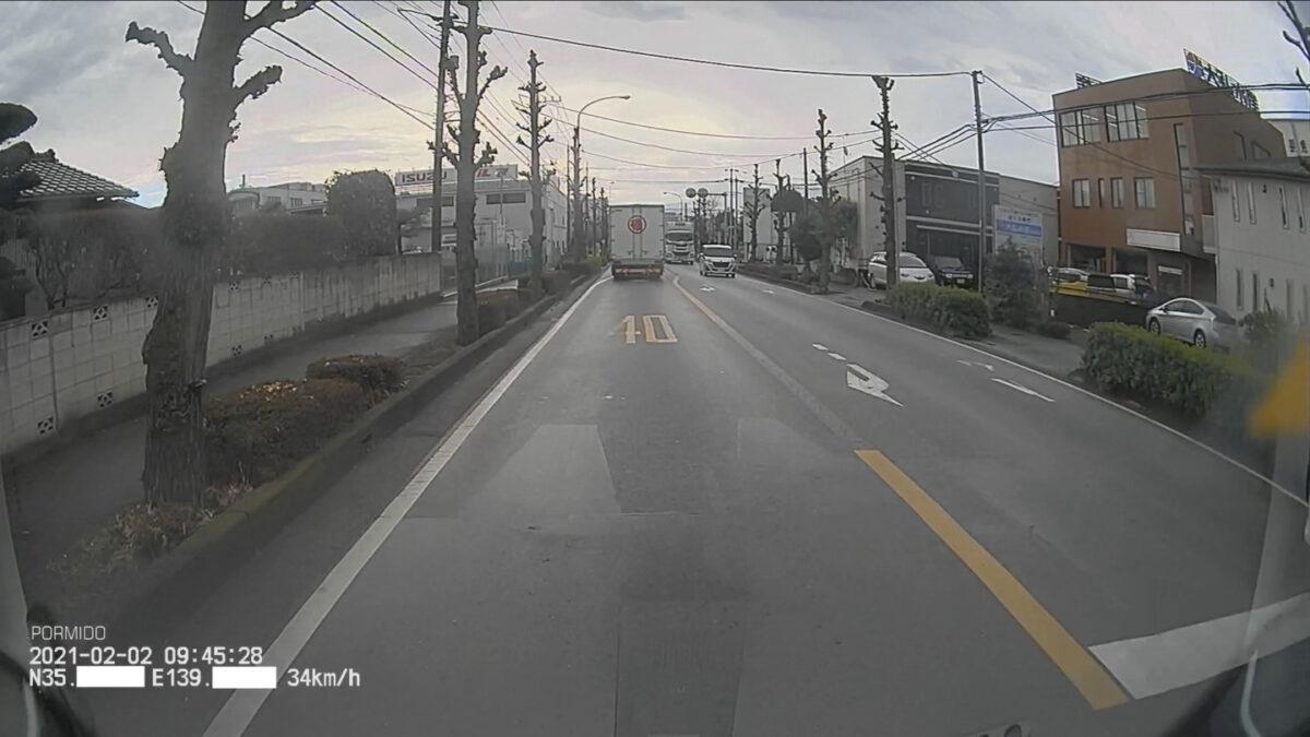 車 グッズ ドラレコ フロントカメラ映像 午前