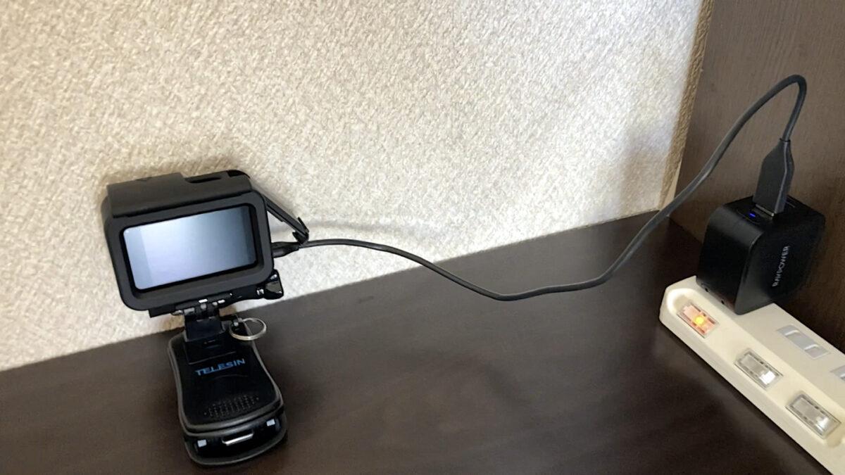 GoPro HERO9 バッテリー 充電方法 本体