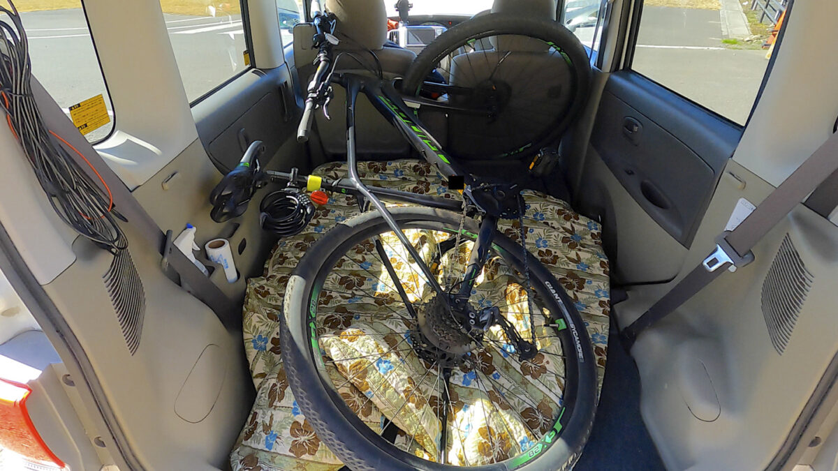タント 自転車 フルフラット2