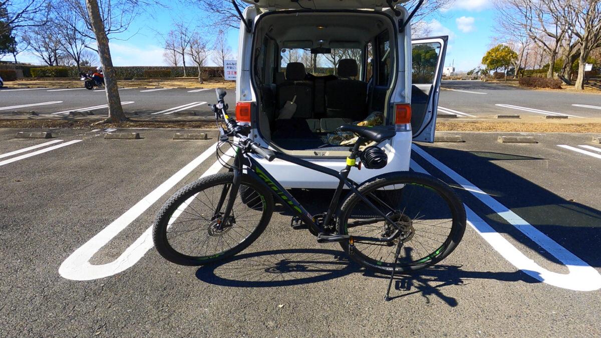 タント 自転車