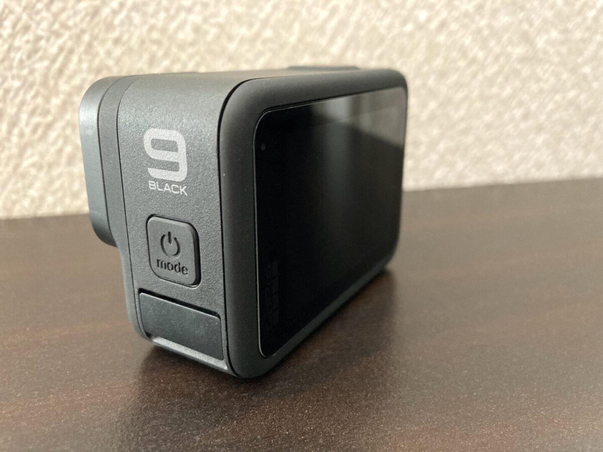 GoPro HERO9 バックモニター