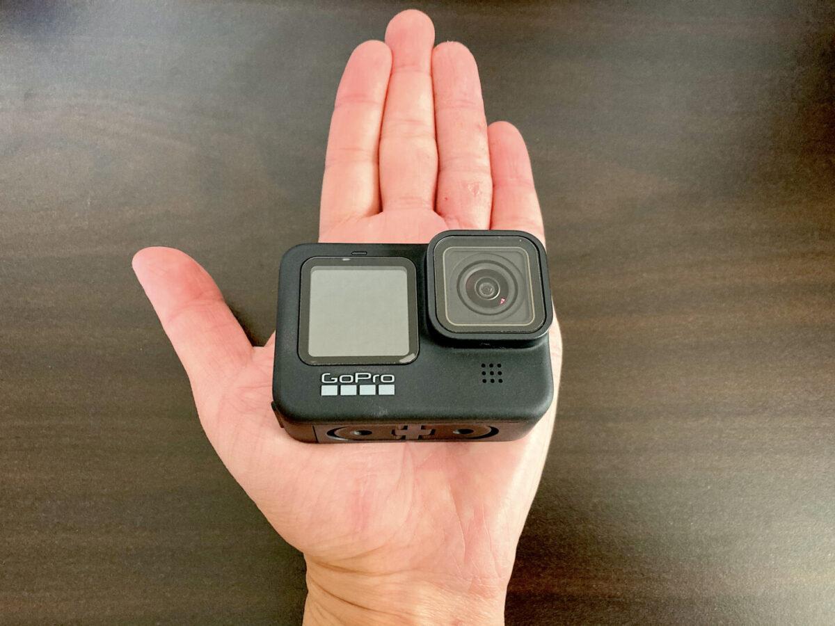 GoPro HERO9 サイズ