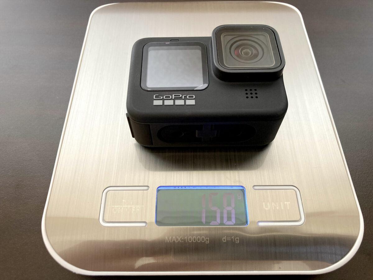 GoPro HERO9 重さ