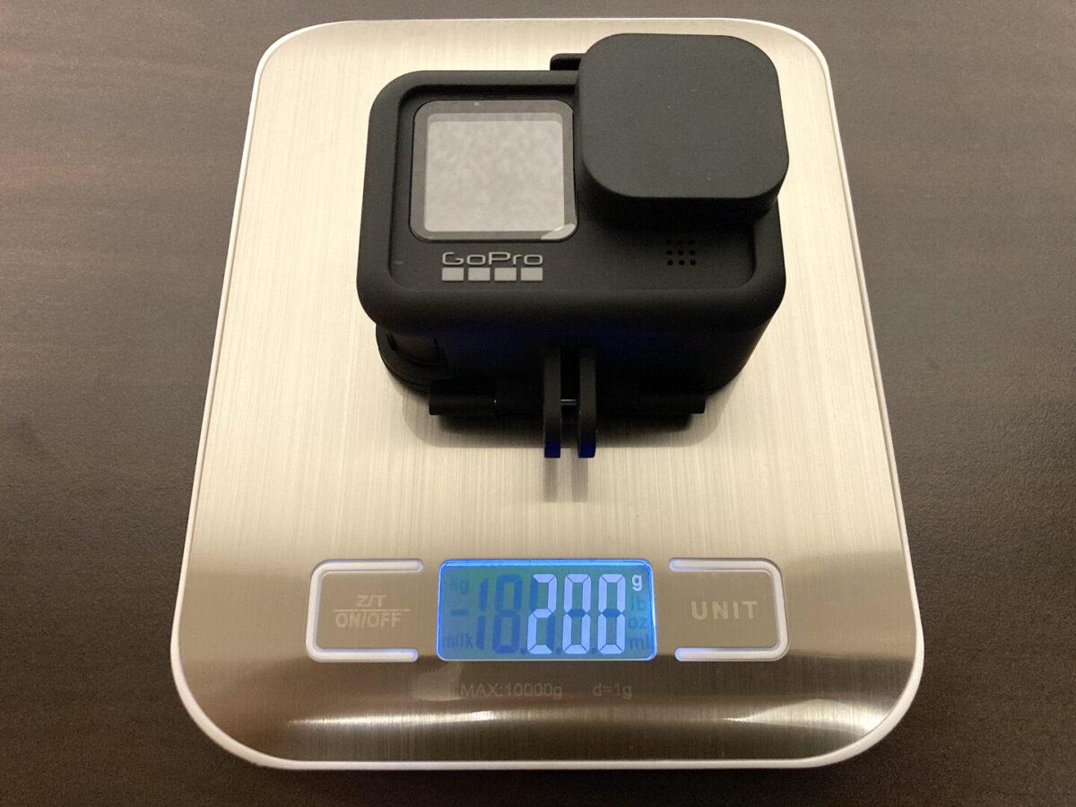GoPro HERO9 ケース カメラ 重さ