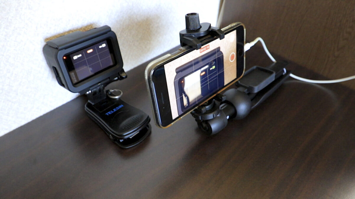 GoPro HERO9 バッテリー 計測方法