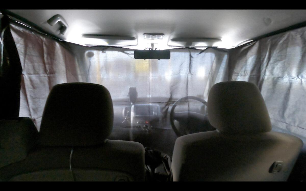 タント 目隠しカーテン 車内