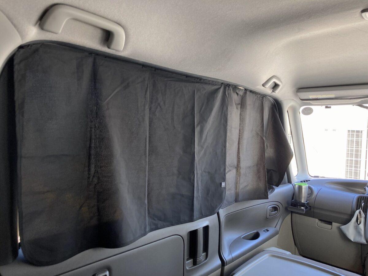 タント 目隠しカーテン2枚 プライベート空間