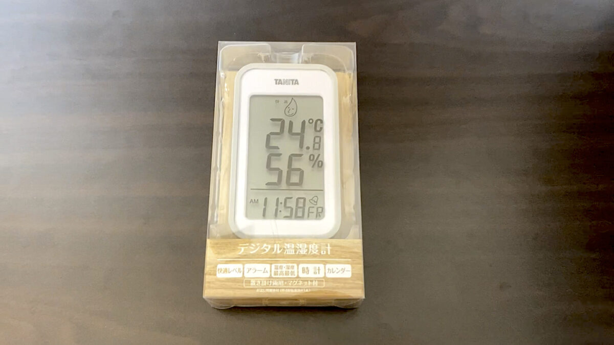 タニタ 温湿度計